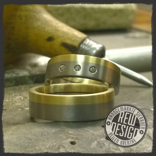 titanium-goud-trouwringen